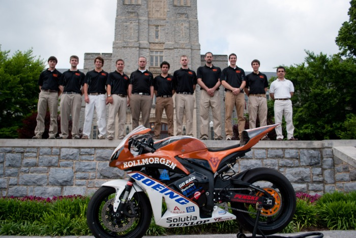 The Virginia Tech Bolt Team